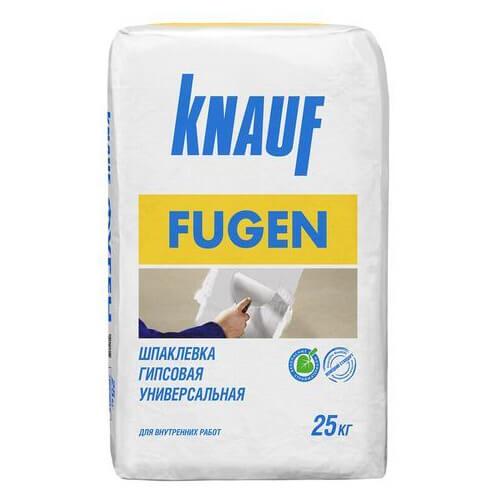 Гипсовая шпаклевка Кнауф Фуген 25 кг