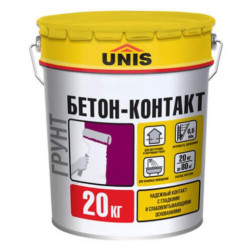 Бетоноконтакт Юнис 20 кг