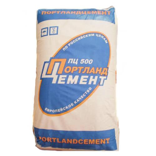 Цемент Портланд М-500, 50 кг